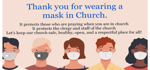 Mask at Mass