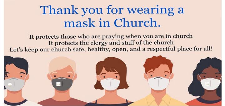 Mask at Mass