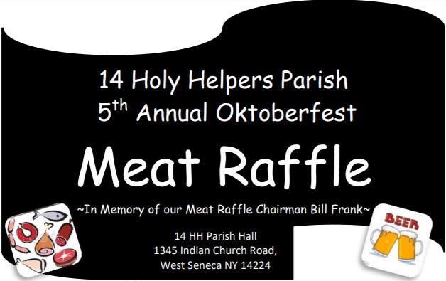 Oktoberfest 2021 Meat Raffle Table of 8